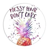 Pineapple Quotes Art Pop Out Phone Grip Holder Socket Collapsible Grip & Stand for Phones and Tablets