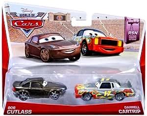Cars - Y0513 - Véhicule Miniature - Bob Cutlass et Darrell Cartrip