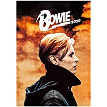 Wall Calendar 2020 [12 Pages 20x30cm] David Bowie Music Vintage Photo Poster Magazine Cover
