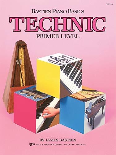 Bastien Piano Basics Technic Primer: Noten für Klavier (Stores Company Trading)