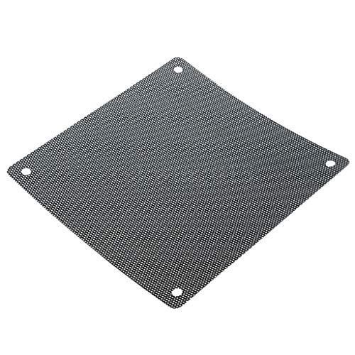 Viesky PC-Lüfter PVC Staubfilter Reduzierer staubdicht Computer Kühler Abdeckung Mesh Schutzwerkzeug (Computer-ventilator-mesh)