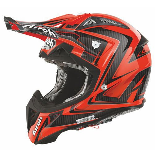Airoh Motorrad Helm Aviator 2.1, Orange (Arrow Orange), 56-S