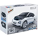 Banbao 6802-1 - Car BMW I3 White, Construcción 98 piezas 1/24 miniatura de juguete, licensed by BMW