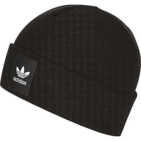 Berretto adidas – Rib Logo Beanie nero/bianco formato: OSFW (Un