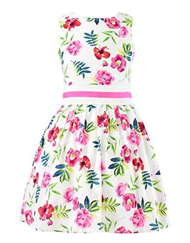 Badeanzug Chihuahua (Garsumiss Damen Blumenkleid Beachwear Strandkleid Blumen Dekor Tüll Rockteil Ärmellos Beachwear)