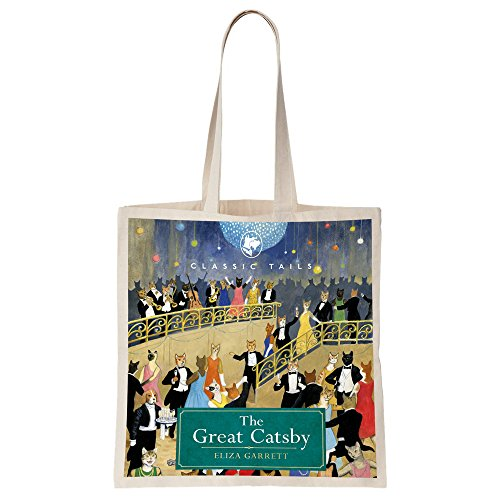 The Great Catsby Beautifully Illustrated Totebag