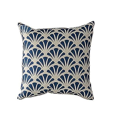 Bluelans® Vintage Pillowcase Linen Deoorative Throw Pillow Case Cushion Cover Home Sofa Decor 18