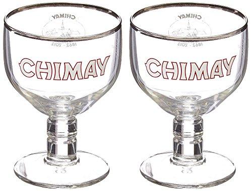 Chimay Verres à Bière 33cl (Set de 2)