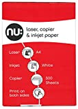 Nu A4 Copier Paper Ream - White (Ream of 500)