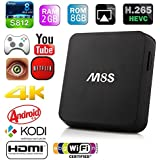 Bqeel M8s Android TV Box Amlogic S812 Quad Core 4k de salida 2gb / 8gb flash 2