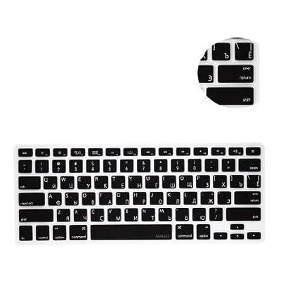 MiNGFi Russisch Tastatur Silikon Schutz Abdeckung für MacBook Pro 13, 15, 17 Air 13 Zoll US Keyboard Layout Silicone Cover