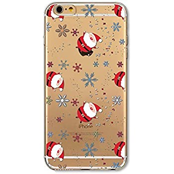 iphone 6s case xmas tpu transparent shell case for 47 apple iphone 6