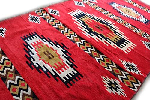Damaskunst NUEVO, blanco, Rojo Marrón, alfombra 200