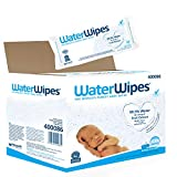 WaterWipes Baby Wipes Sensitive Newborn Skin, 1080 Wipes (18 Packs of 60 Wipes)