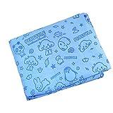 Nunubee Karikatur Handtücher für Haustier Mikrofaser Hund Handtuch Schnelles Trockenes Tücher Sehr Saugfähigen Tuch, Blau