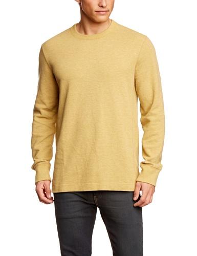 Eddie Bauer Herren Langarmshirt 13302140 Gelb (gelb gelb)