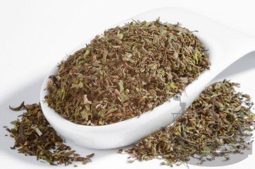 Bohnenkraut Gewürz, gerebelt, zu Bohnengerichten oder als Tee, ohne Geschmacksverstärker, 50g - Bremer Gewürzhandel