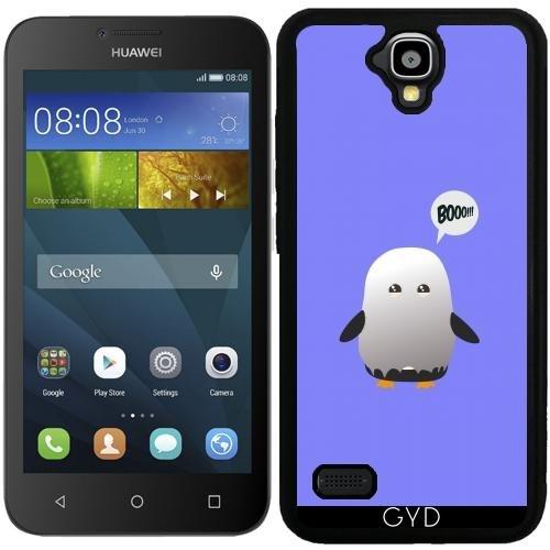 tArtists SilikonHülle für Huawei Y560 - Halloween Pinguin by Ilovecotton ()