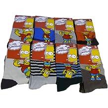 Lote de 3, 6, 9 pares de calcetines THE SIMPSONS-variadas!