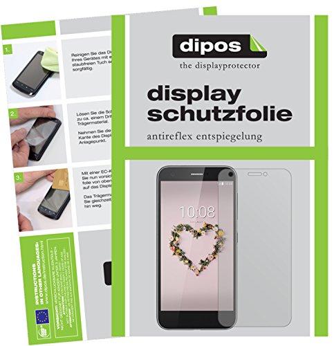 dipos I 2X Schutzfolie matt passend für ZTE Blade A512 Folie Bildschirmschutzfolie