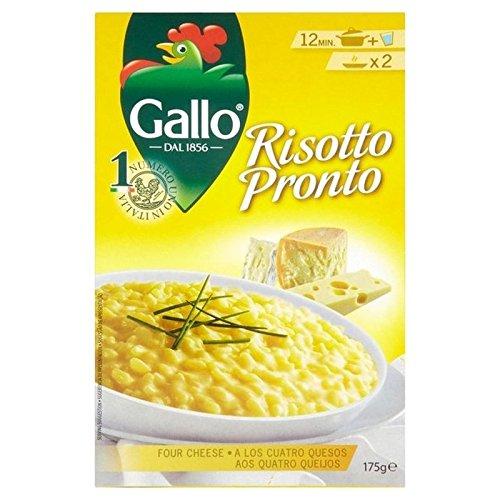 Riso Gallo Risotto Pronto 4 Cheese 175g - Pack of 2