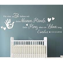 TjapaloR Pkm191 Name B130xH43 Cm Wandtattoo Kinderzimmer Baby Spruch Fur Eine