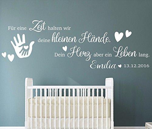 Babyzimmer wandtattoo mädchen  Babyzimmer Wandtattoos - Top 20 Babyzimmer Wandtattoos im ...