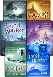 Michelle Paver's Chronicles of Ancient Darkness Collection - 6 Books (Spirit Walker, Wolf Brother, Outcast, Soul Eater, Ghost Hunter, Oath Breaker) (Chronicles of Ancient Darkness)