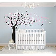 Bdecoll Adhesivo mural para habitación infantil, pegatinas, decoración para el cuarto del bebé,