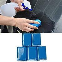 STYLINGCAR stylissima ngcar Lavado plastilina Auto Barniz reinigun gsknete Profesional Distancia de 5Unidades de Color y Manchas de Niebla en la Superficie de vehículo (Azul)