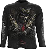 Spiral - Men - STEAM PUNK BANDIT - Longsleeve T-Shirt Black