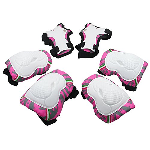 Kids Knee Pads, [2017 New Release] Protective Gear Knee Elbow Pads and Wrist Child
