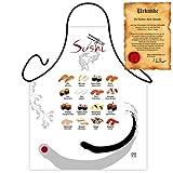 Urlaubsstimmung mit der Themenschürze: Sushi ...mit GRATIS Urkunde!!!