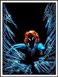 imagenation The Amazing Spiderman 'web Burst'-60cm x 80cm impresión en láminas autoadhesivas papel Póster