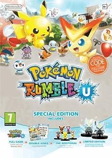 Pokemon Rumble U: Redeem Online Code - Special Edition (Wii U) (B00EN1605G)   Amazon price tracker / tracking, Amazon price history charts, Amazon price watches, Amazon price drop alerts