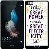 SilikonHülle für Huawei Ascend P8 Lite - Energie-Leistung