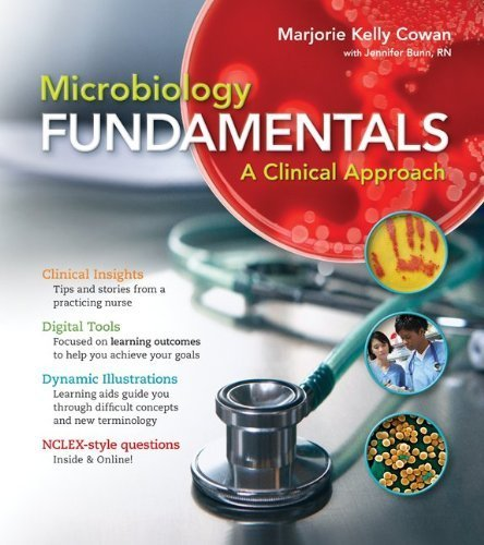 Combo: Microbiology Fundamentals: A Clinical Approach with Obenauf Lab Manual by Marjorie Kelly Cowan (2011-12-22)