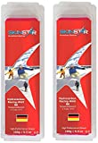 SkinStar Hydrocarbon Racing Skiwax Profi-Wachs Cold Mix Red 250g