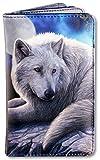 Geldbörse mit Wolfsmotiv - Guardian of The North | Geldbeutel