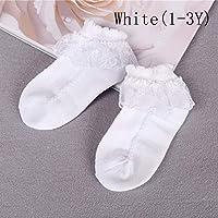 7thLake 10pcs Baby Girls Kids Toddler Soft Breathable Cotton Lace Ruffle Princess Mesh Socks Children