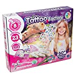 Science 4 You - DOM SY612921 Tattoo Factory Educational Science Kit for Girls Aged 8+, Multi