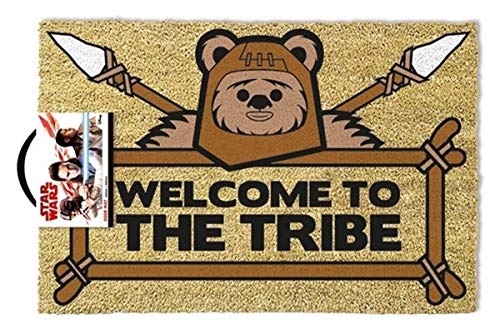 Doormat Star Wars Welcome To The Tribe Ewok