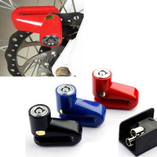Bremsscheibenschloss Bremsscheibenschloß Schloss Motorrad Fahrrad MTB Roller Mofa 4 Farben Auswahl