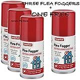 Best Flea Foggers - Beaphar Household Flea Fogger (3 + ONE FREE) Review