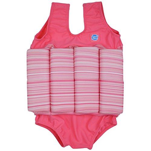 Splash About Kinder Float Anzug Badebekleidung anpassbaren Schwimmers, Rosa Bonbon, 1-2 Jahre, FSPC1