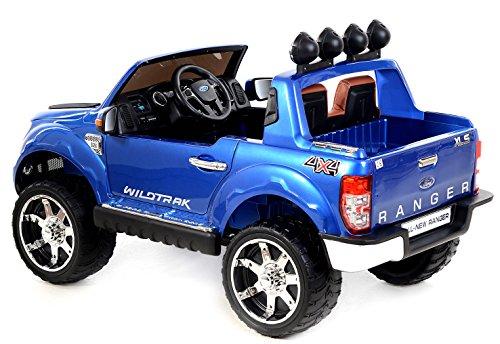 ford ranger elektro auto f r kinder blau. Black Bedroom Furniture Sets. Home Design Ideas
