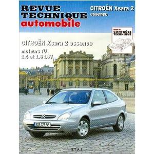 Revue technique automobile : 647.1 Citroën Xsara 2 Essence, moteurs TU 1.4 et 1.6 16 V