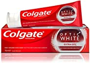Colgate Optic White Extra Power Whitening Toothpaste, 75ml