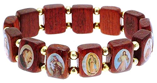 Kleine Größe Damen Original Saint Armband in Kirschbaum und UV-beständig Beschichtung-Ideal Twilight Schmuck-snt13 -