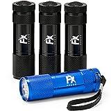 LED Taschenlampe 4er Set – Superhelle